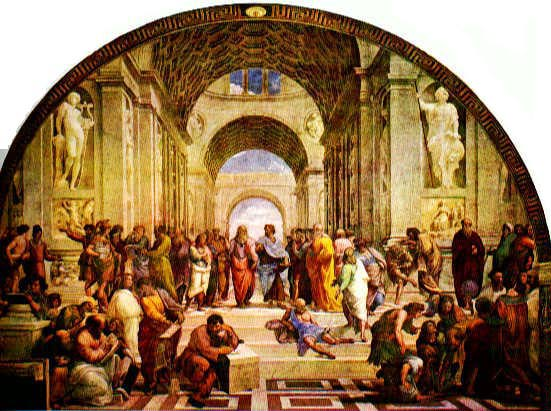 Raphael's The School of Athens, 1509