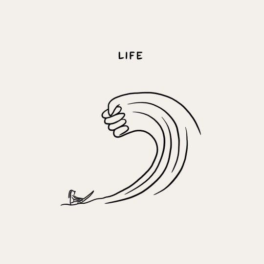 Image of surfing fist wave - life