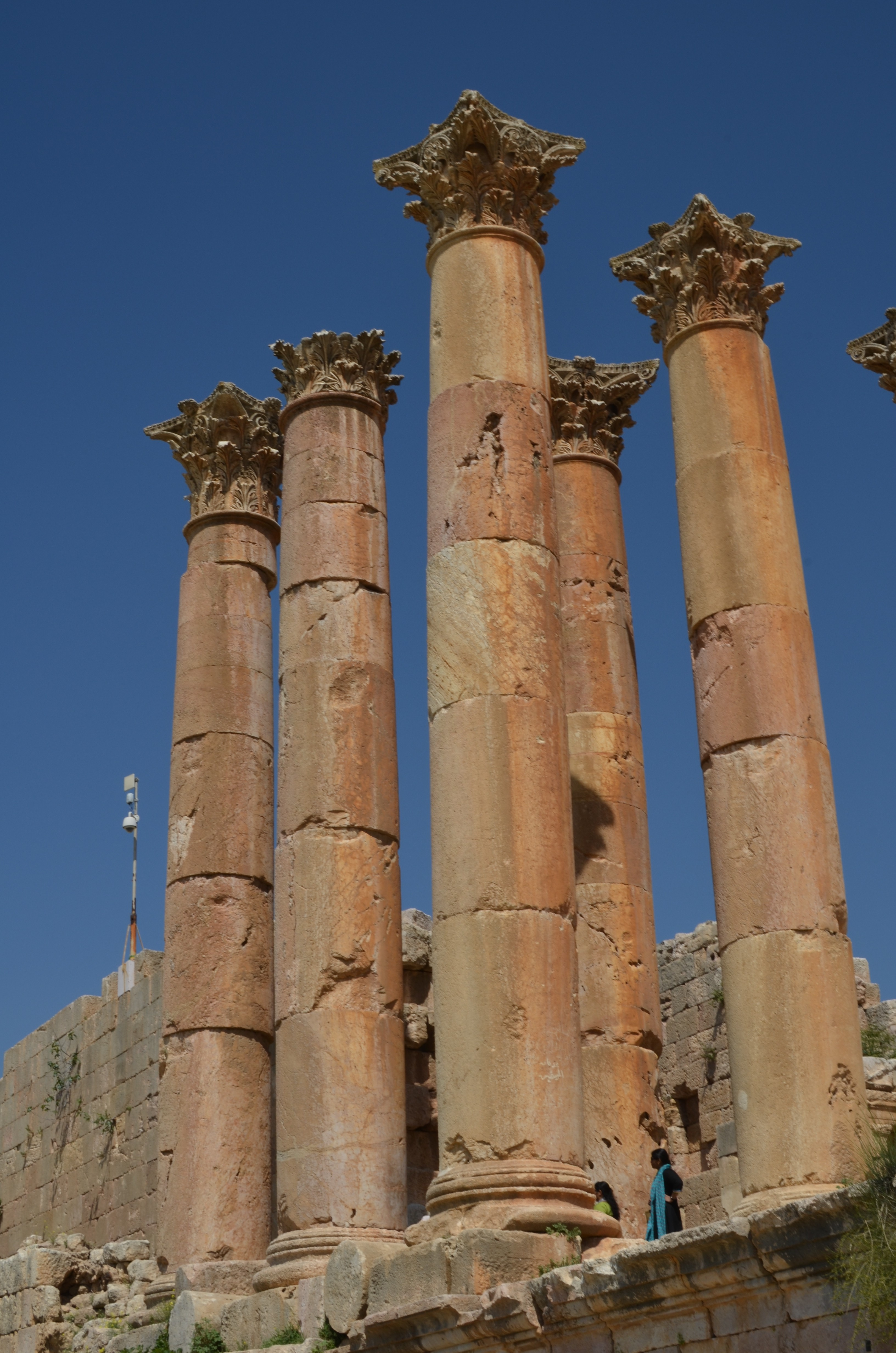 pillars, Jordan, Jerash, Roman Empire