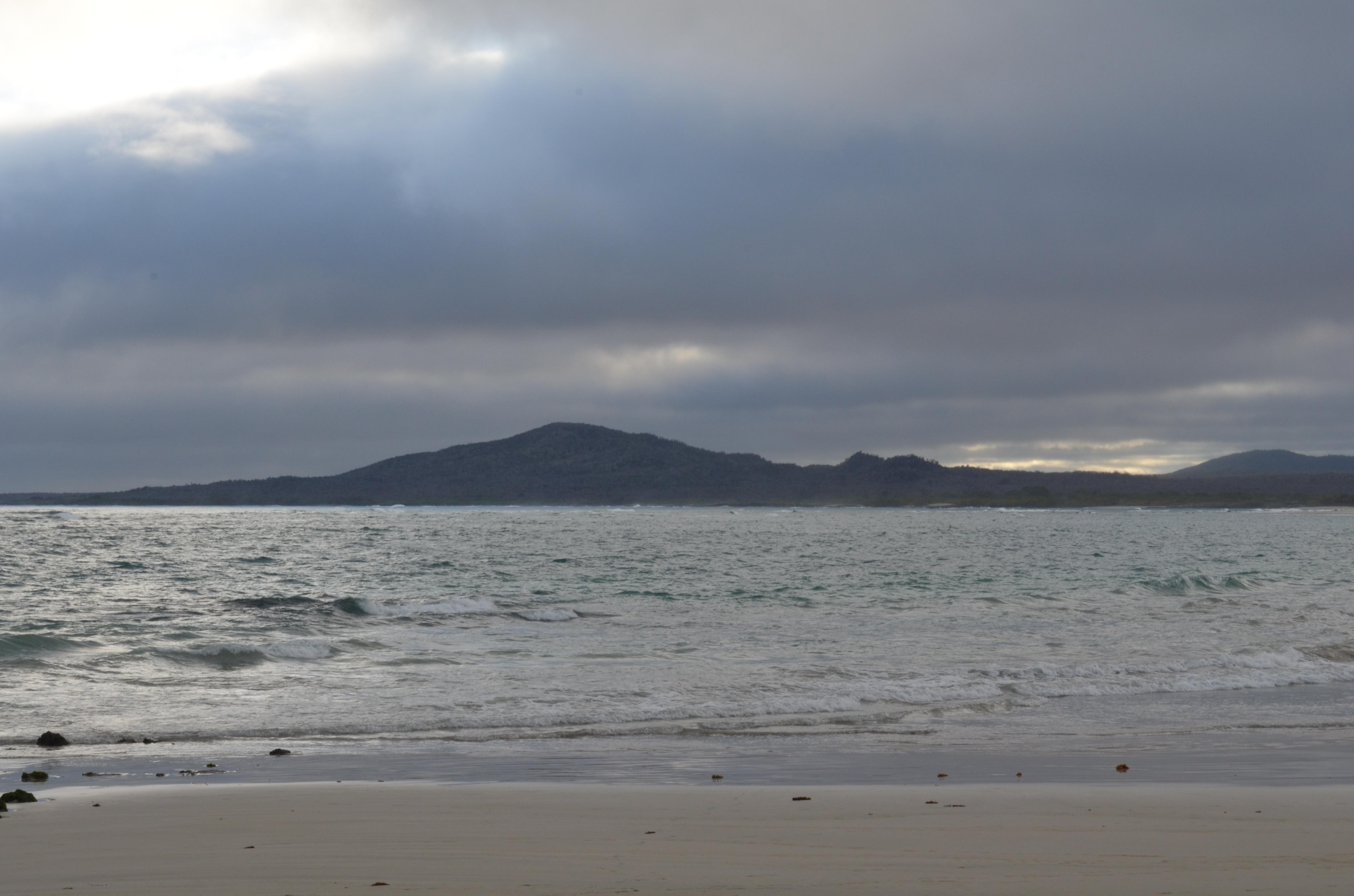 Galapagos shore