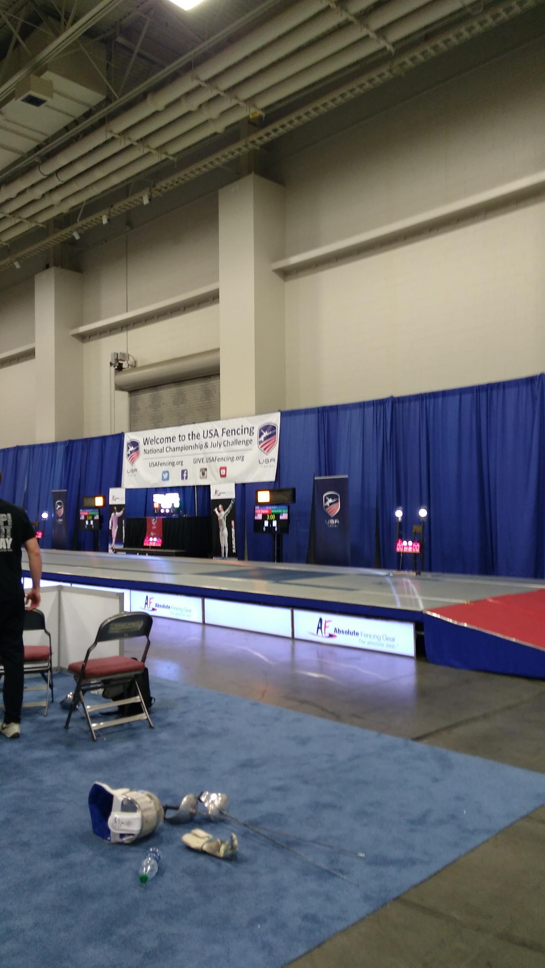 Fencing Nationals Salt Lake City